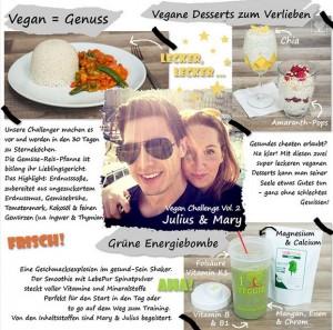 30 Tage vegan Challenge Endfazit