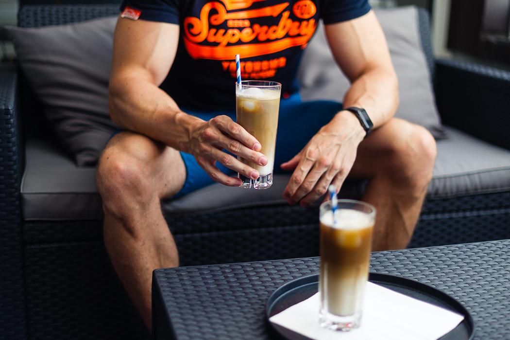 eiskaffee selber machen kalorienarm