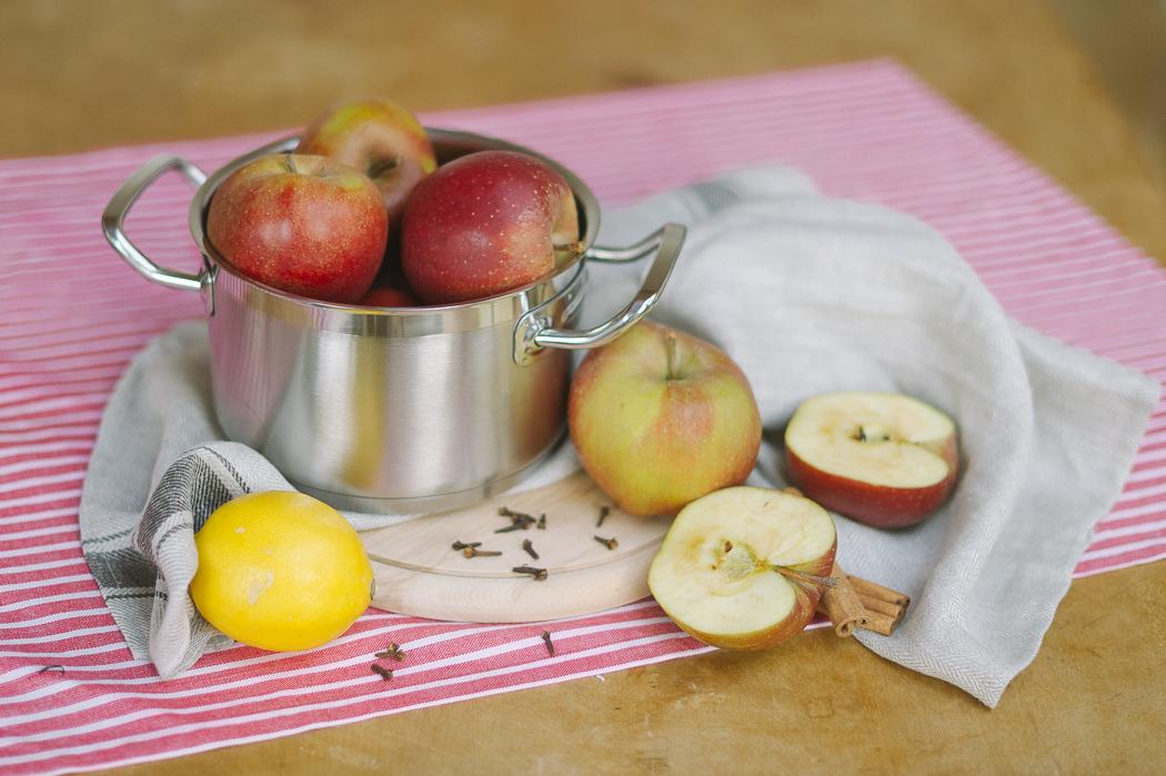 Selbstgemachtes Apfelmus