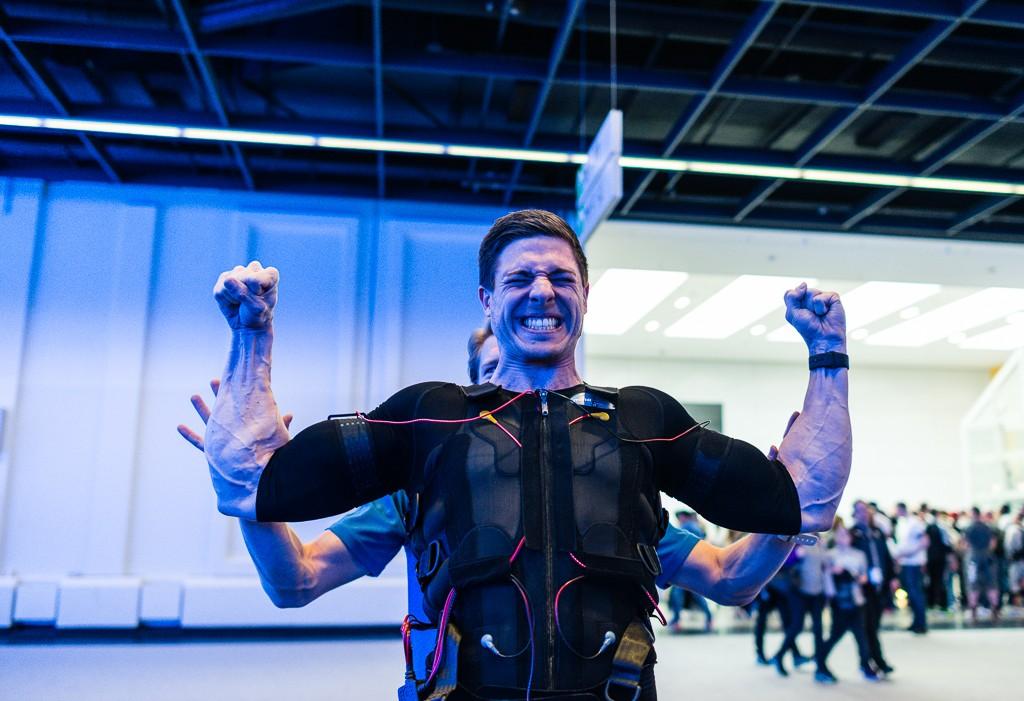 EMS Training - miha Bodytec - Fibo 2016 - Dreamteamfitness