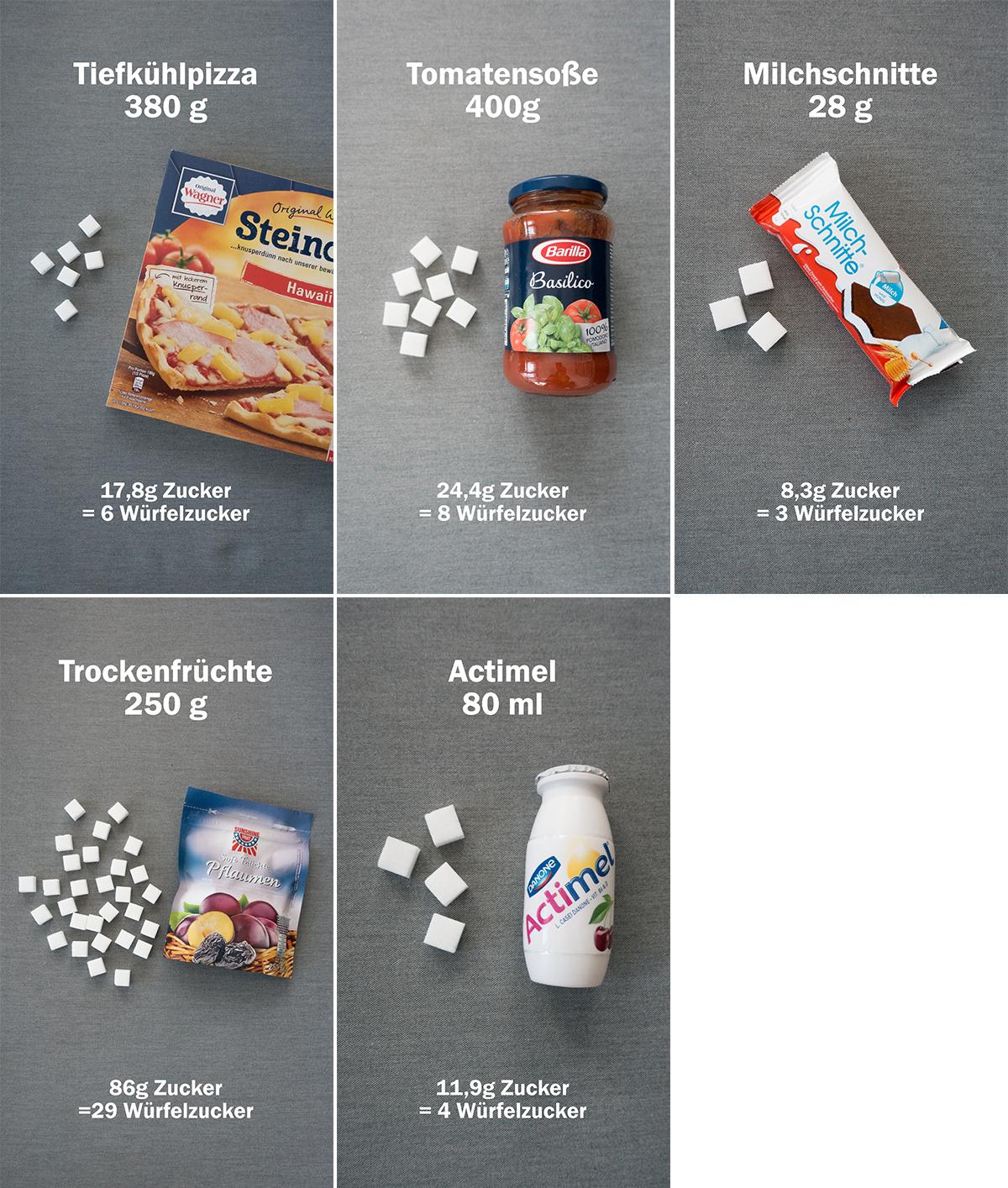 Wie viel Zucker steckt drin? - DreamteamFitness