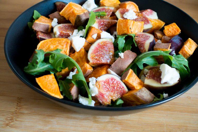 fitnessblog-fitnessblogger-fitness-blog-blogger-stuttgart-dreamteamfitness-Süßkartoffel-salat-mit-feigen