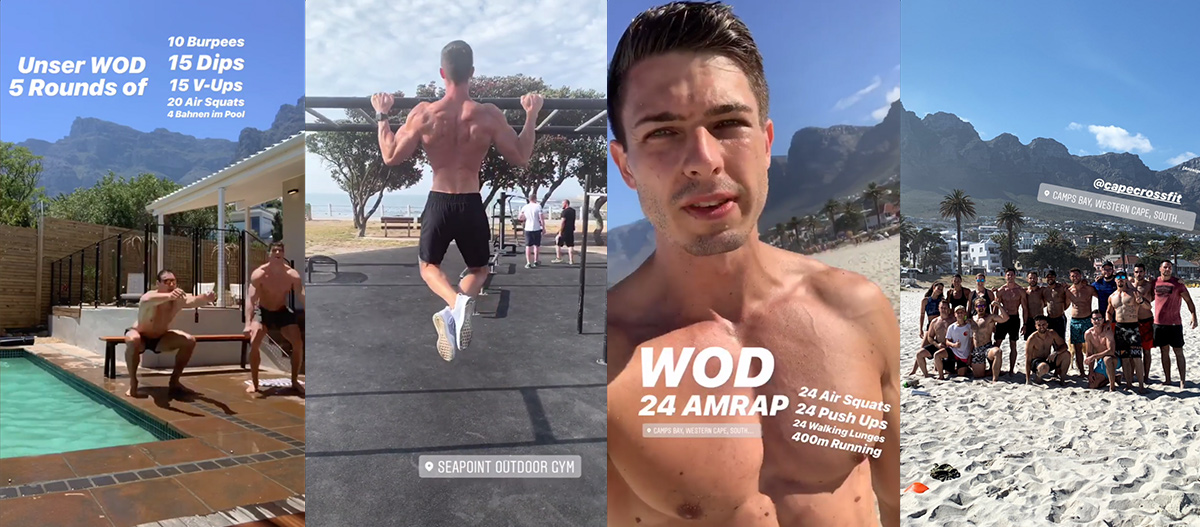 Cape Town, Kapstadt, Ausflug, sport, workout, wod, CrossFit, fitness park, bodyweight