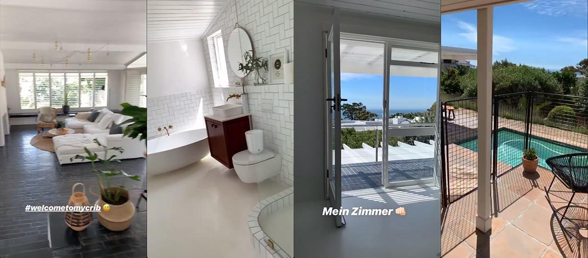 Kapstadt, Unterkunft, airbnb, Villa,pool, camps bay, cape town
