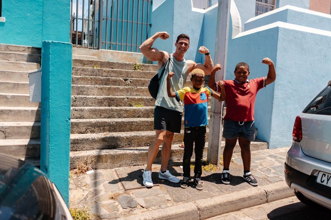 Cape Town, Kapstadt, Ausflug, berg, kletter, sonne, bo-kaap, bunt, colored houses, bunte Häuser