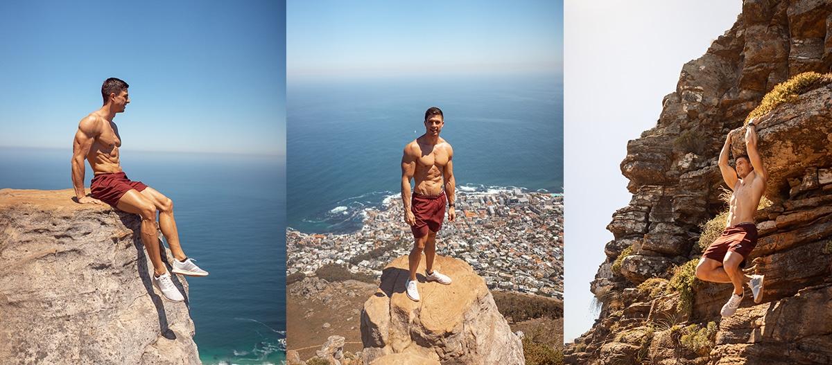 Cape Town, Kapstadt, Ausflug, berg, kletter, lions head, action, sonne,