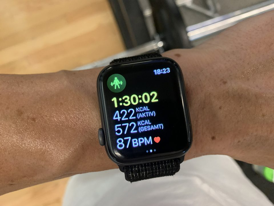 Apple Watch, gym, workout, Kalorien, Kalorien zählen, Kalorien tracken, training, fitness