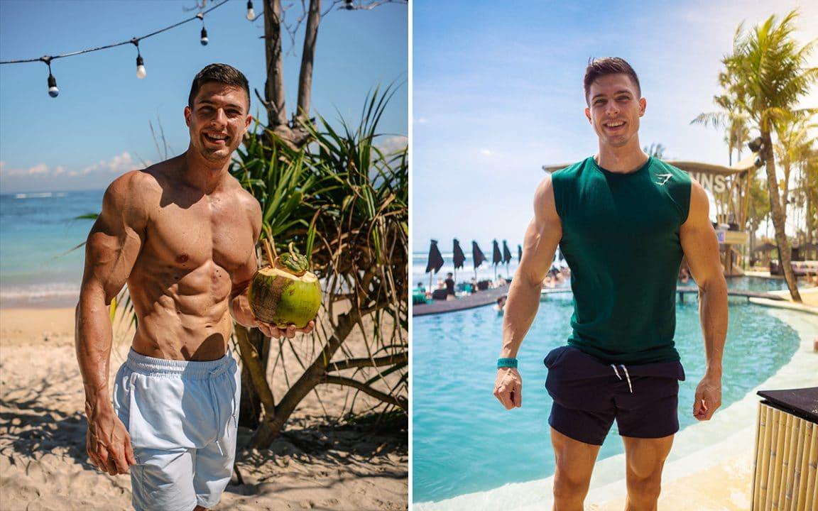 beach club, coconut, Finns, Bali