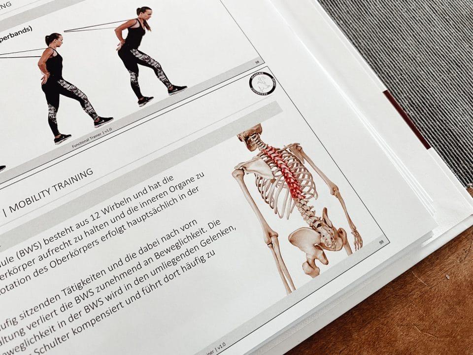 Lernmaterial, Functional Trainer Ausbildung, Akademie für Sport und Gesundheit
