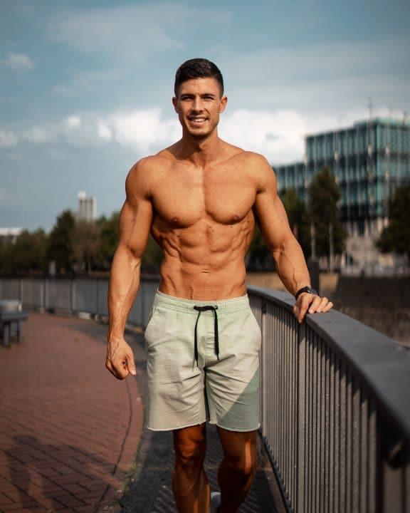 six-pack, Diät, Bauchmuskeln, Wettkampf, Bodybuilding