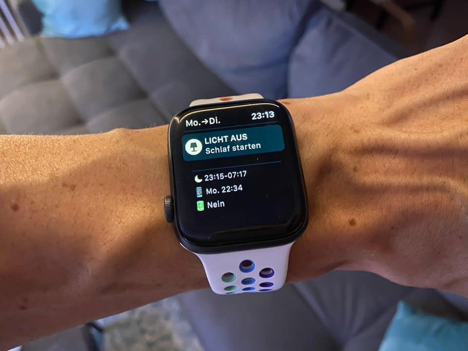 Apple Watch Series 5 Schlaftracking, Schlafüberwachung