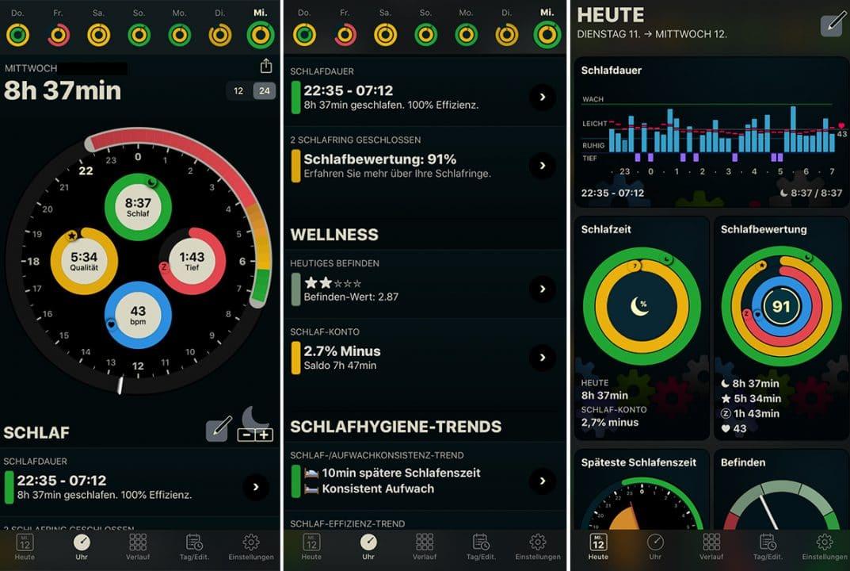 AutoSleep, Apple Watch, Series 5, Schlaftracking, Schlafen, Schlafüberwachung