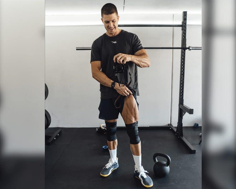 McDavid, Bandage, Training mit Bandagen, Beintraining, Selfie