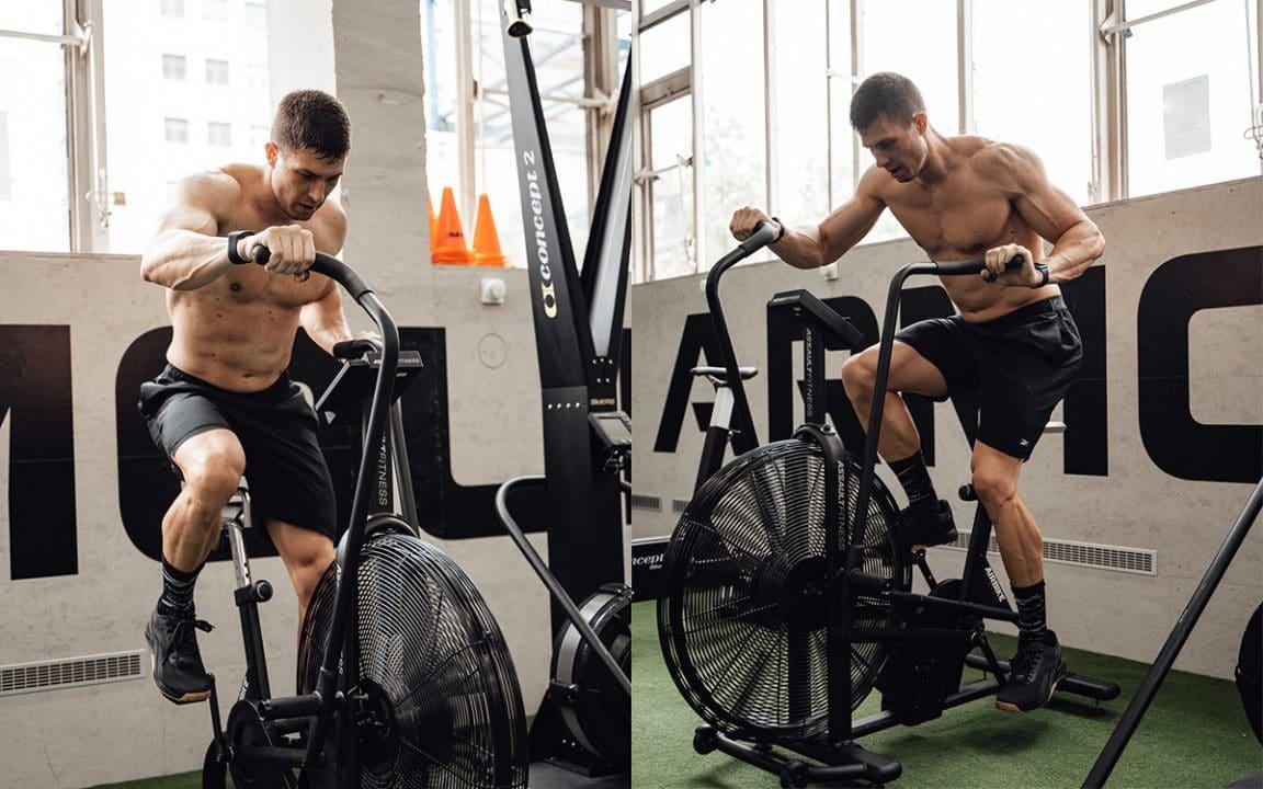 Workout, Assault Bike, HIIT, Fitness, Training